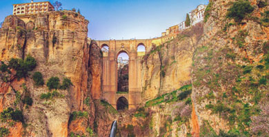 Age of the bridge in Ronda is 230 years old
