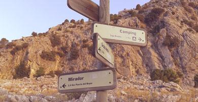 hiking trail ronda grazalema