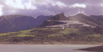 arab castle in zahara de la sierra