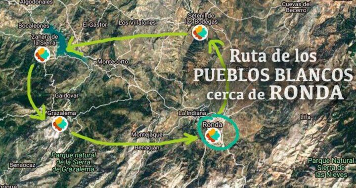 visita guiada a los pueblos blancos desde Ronda