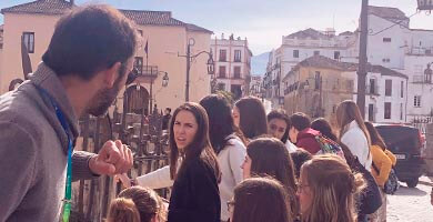 guided walking tour of Ronda