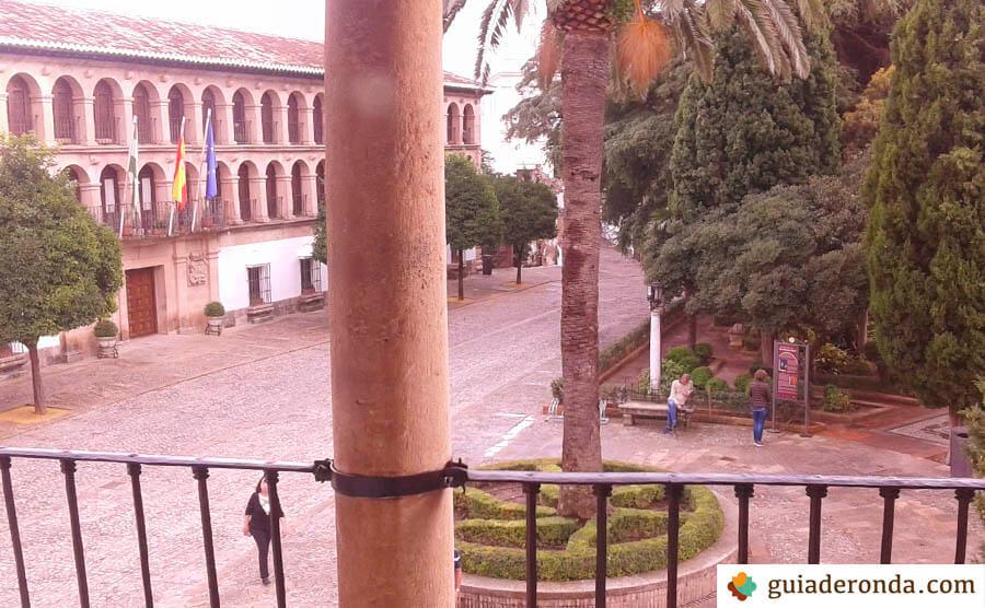 Plaza duquesa de Parcent en Ronda